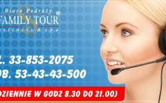 Informacje, Rezerwacja tel.33-853-2075 Mob. 53-43-43-500
