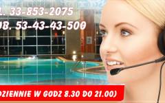 Informacja, kontakt i rezerwacja tel. 33-853-2075 Mobile. 53-43-43-500
