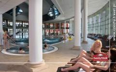 Korzystanie z basenów termalnych z Family Tour all inclusive